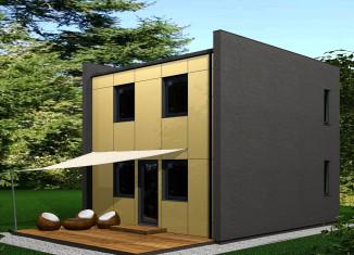 Cubo für Kleingartensiedlung